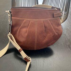 Woman's leather Coach Purse